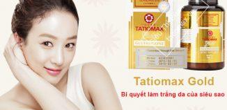 thuốc tatiomax gold glutathione giá bao nhiêu
