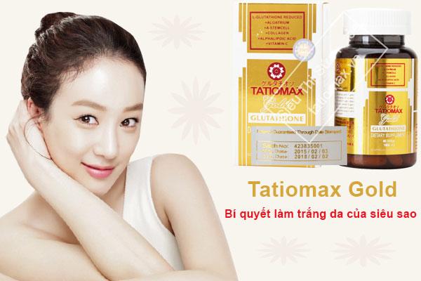 viên uống Tatiomax của Nhật