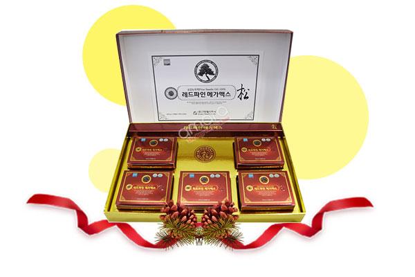 viên uống tinh dầu thông đỏ Hàn Quốc